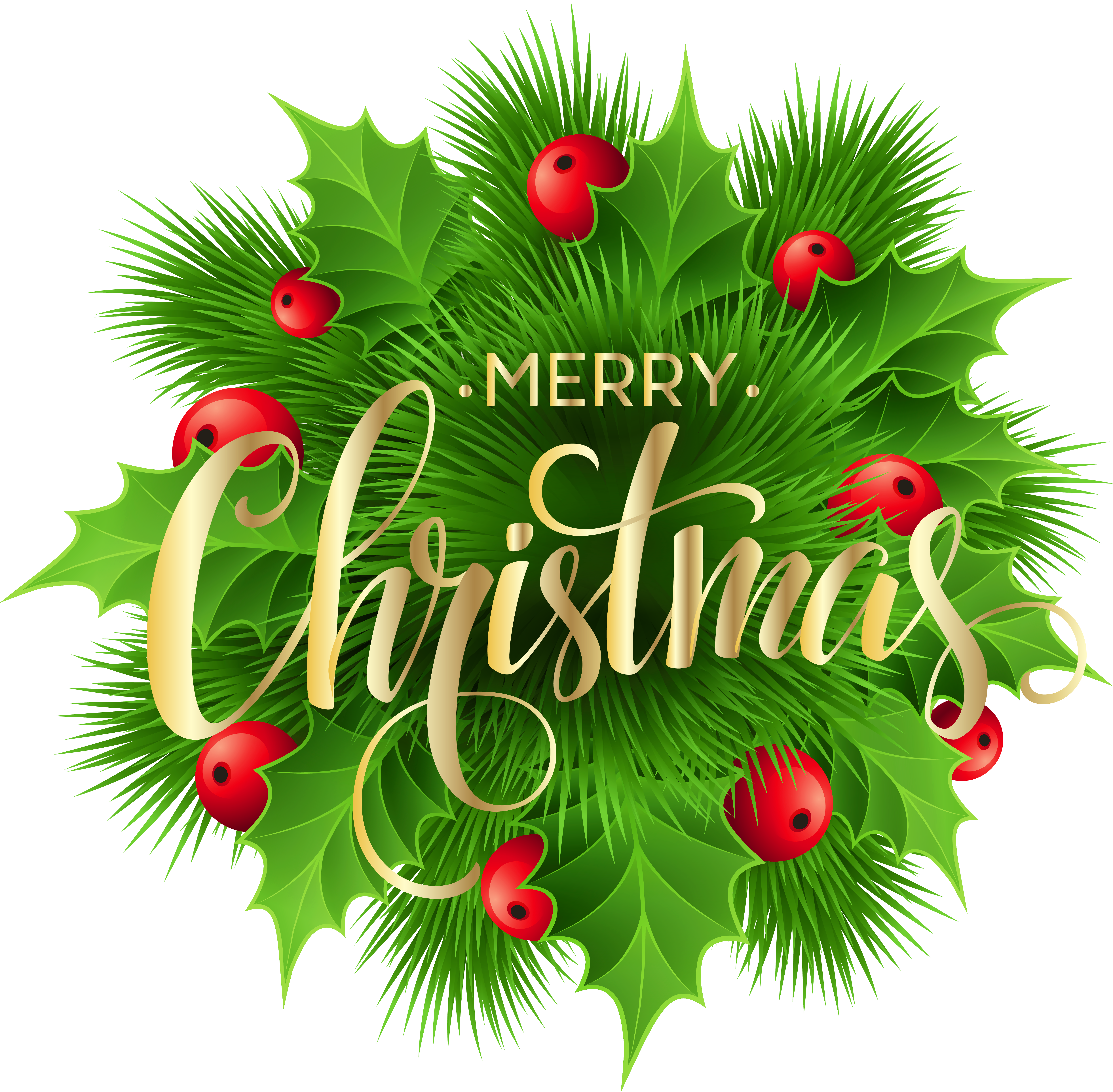 Light clipart merry christmas. Pine decoration png clip