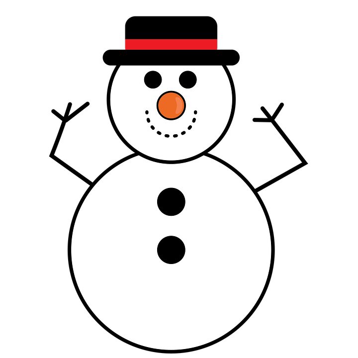 Snowman picture group christmas. Fedora clipart snow man