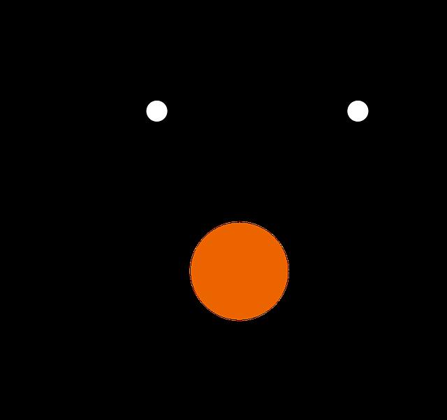 Eye clipart snowman. Free image on pixabay