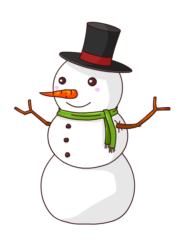 Snowman Cartoon Clip art