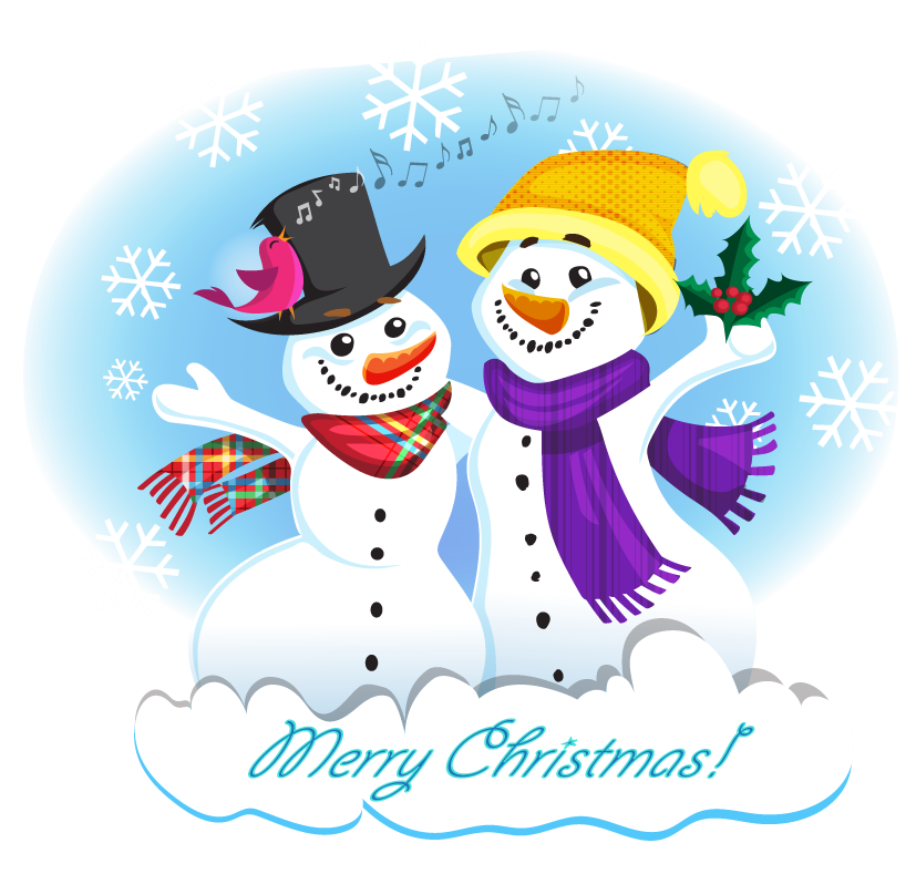 Clipartix free to use. Clipart snowman friends