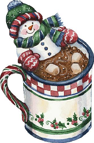 Christmas cocoa clip art. Snowman clipart hot chocolate
