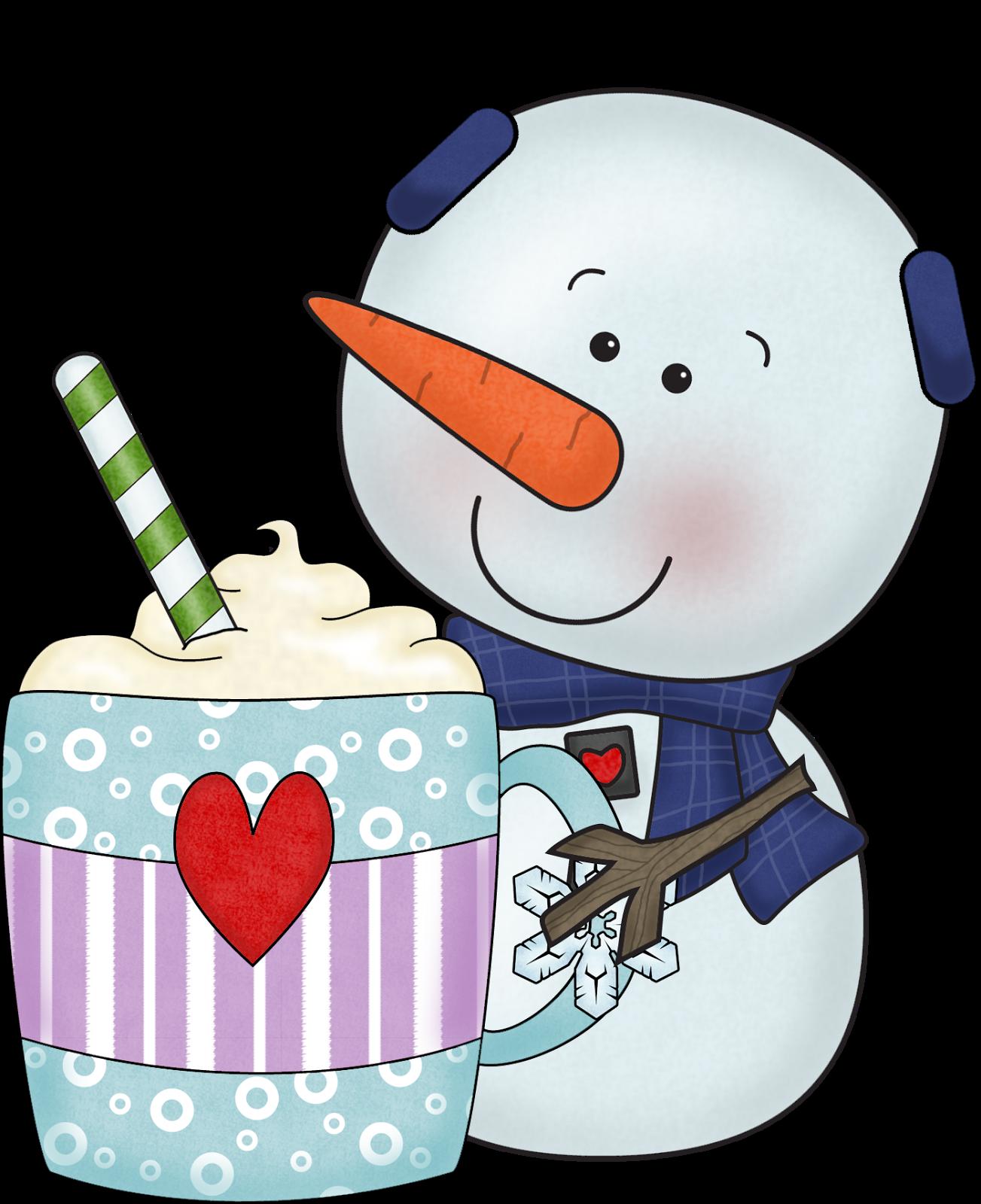 Holiday clipart hot cocoa. Snowman chocolate clip arts