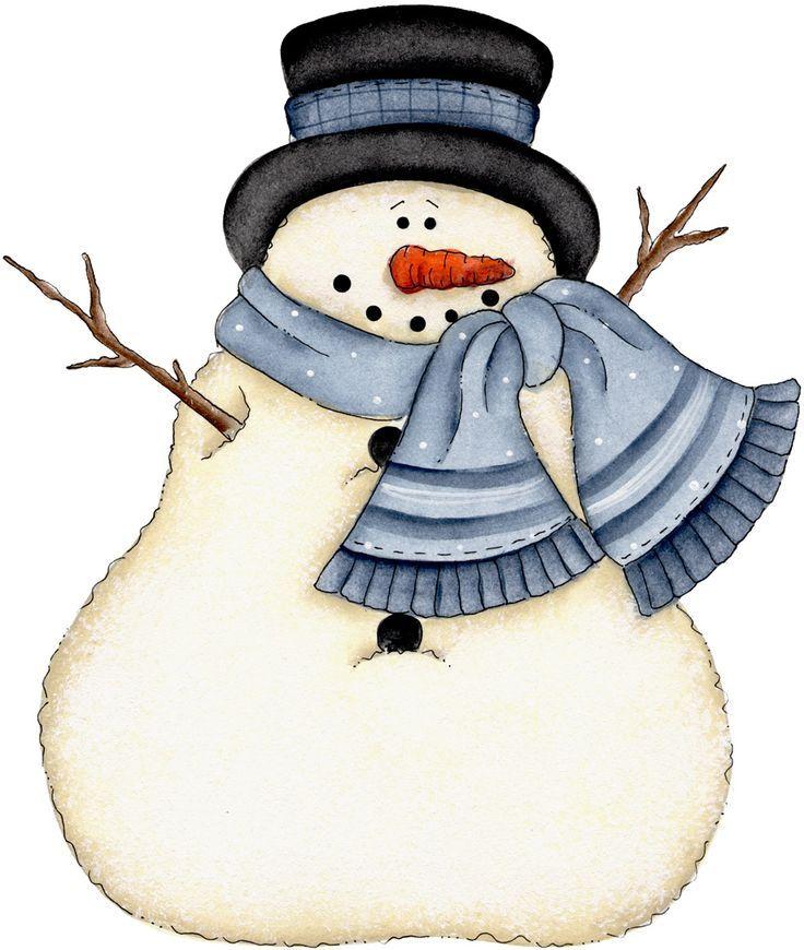 Snowmen images on clip. Snowman clipart january