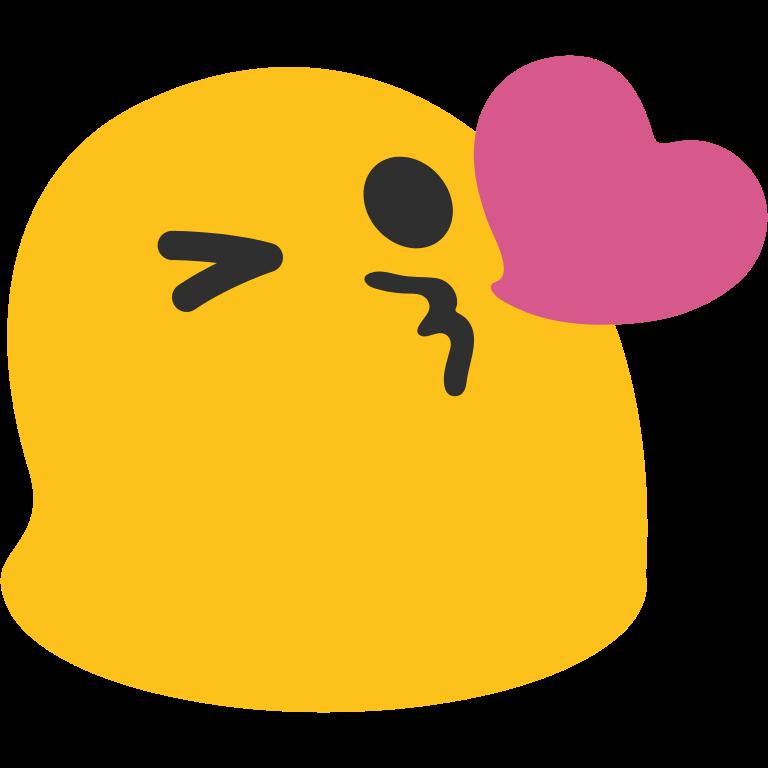 Kiss clipart baby kiss. Heart emoji png free