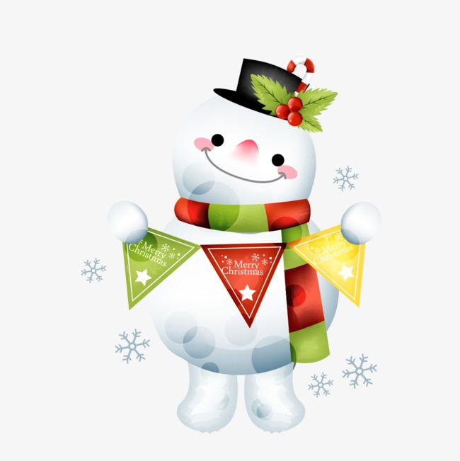 Clipart snowman ornament.