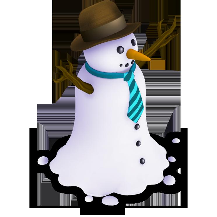 Snowman piece