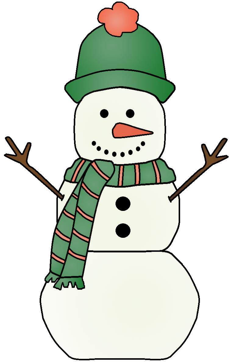 Graphics by ruth snowmen. Snowman clipart green