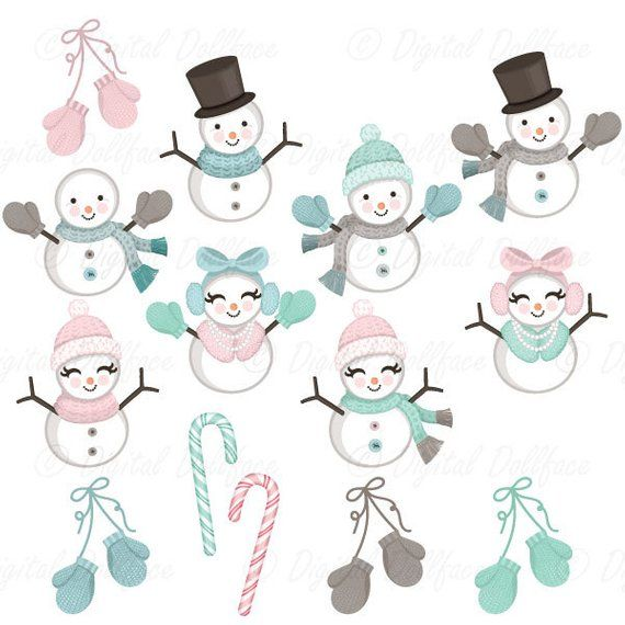 Christmas snow winter cozy. Snowman clipart theme