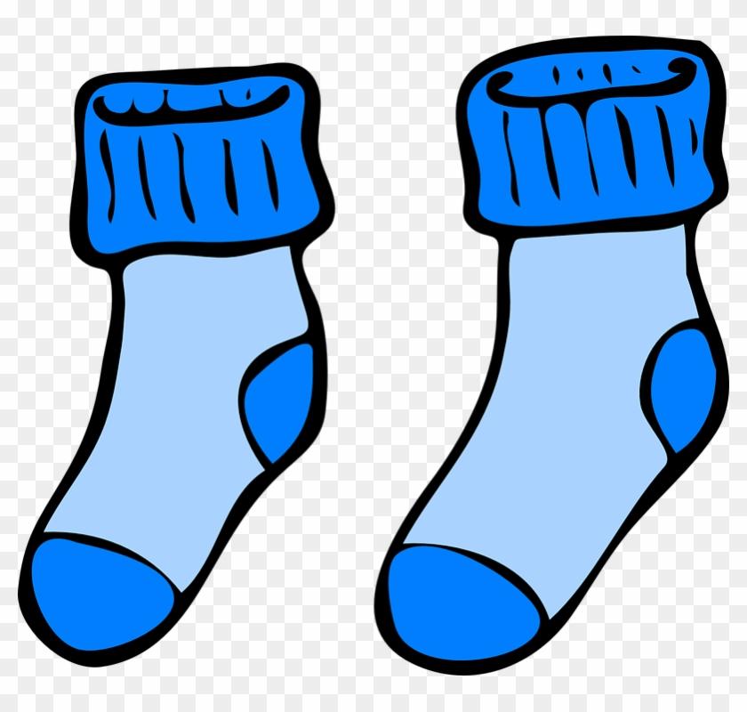 Clipart socks blue dress. Free long sock download