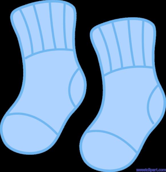 Clipart socks blue socks. Sweet clip art page