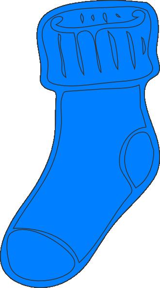 Sock clip art at. Clipart socks blue socks