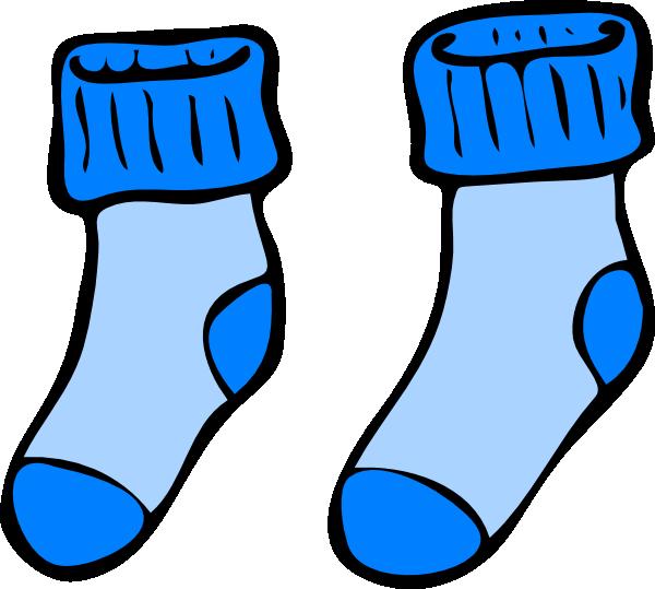 Matching clip art images. Clipart socks blue socks