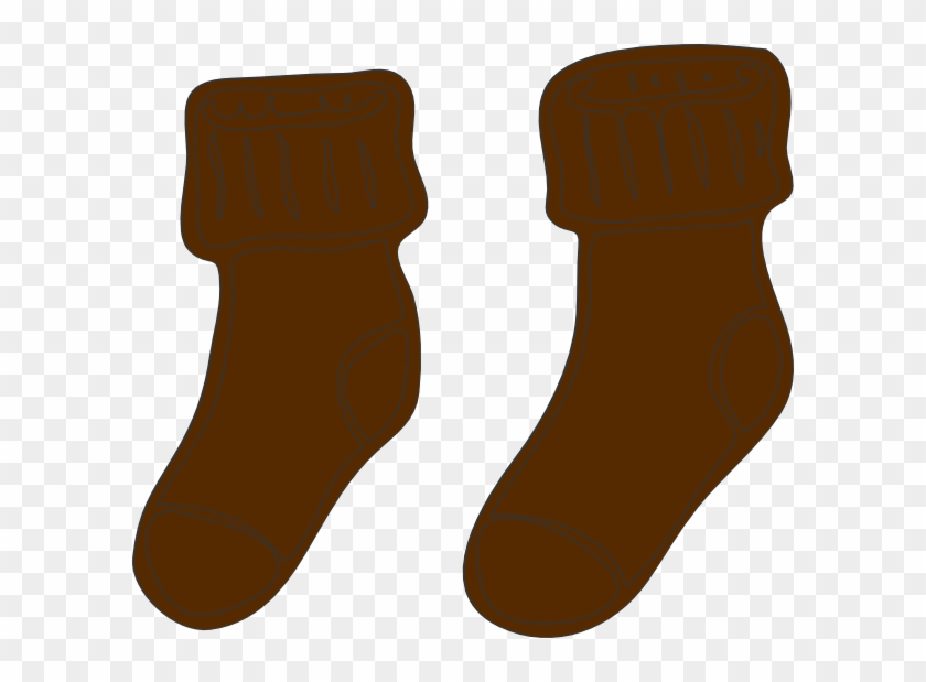 Clipart socks brown. Svg clip arts x