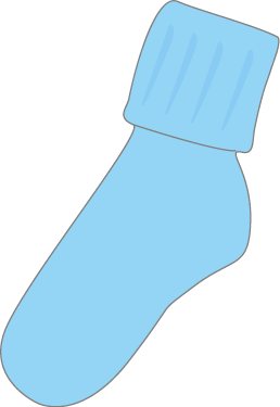 Free blue cliparts download. Clipart socks childrens clothes