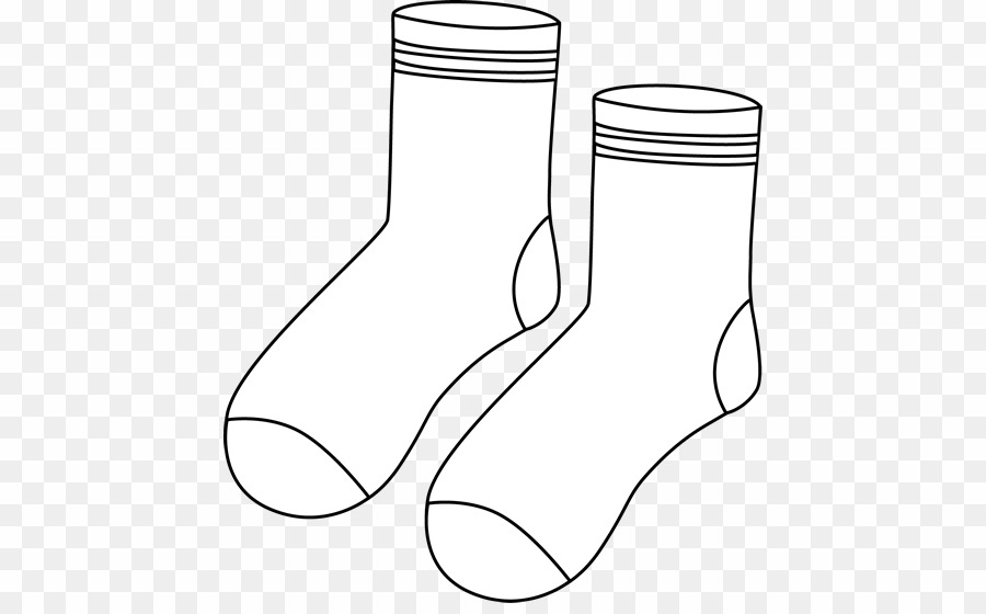 Clipart socks clothes. Png black and white