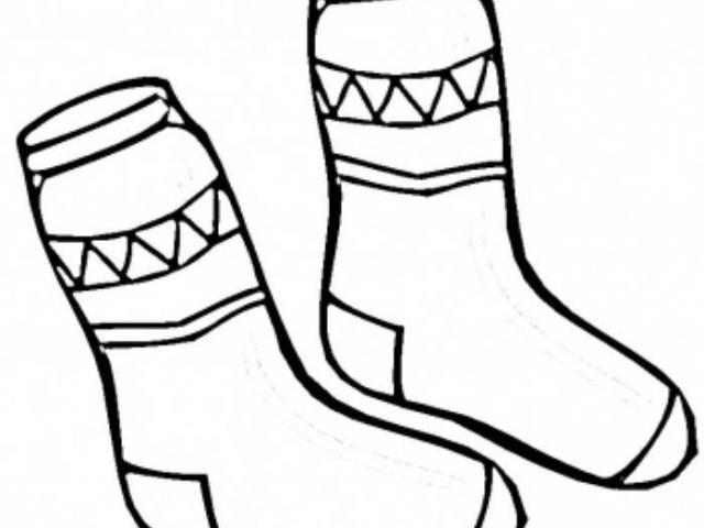 Free download clip art. Clipart socks color