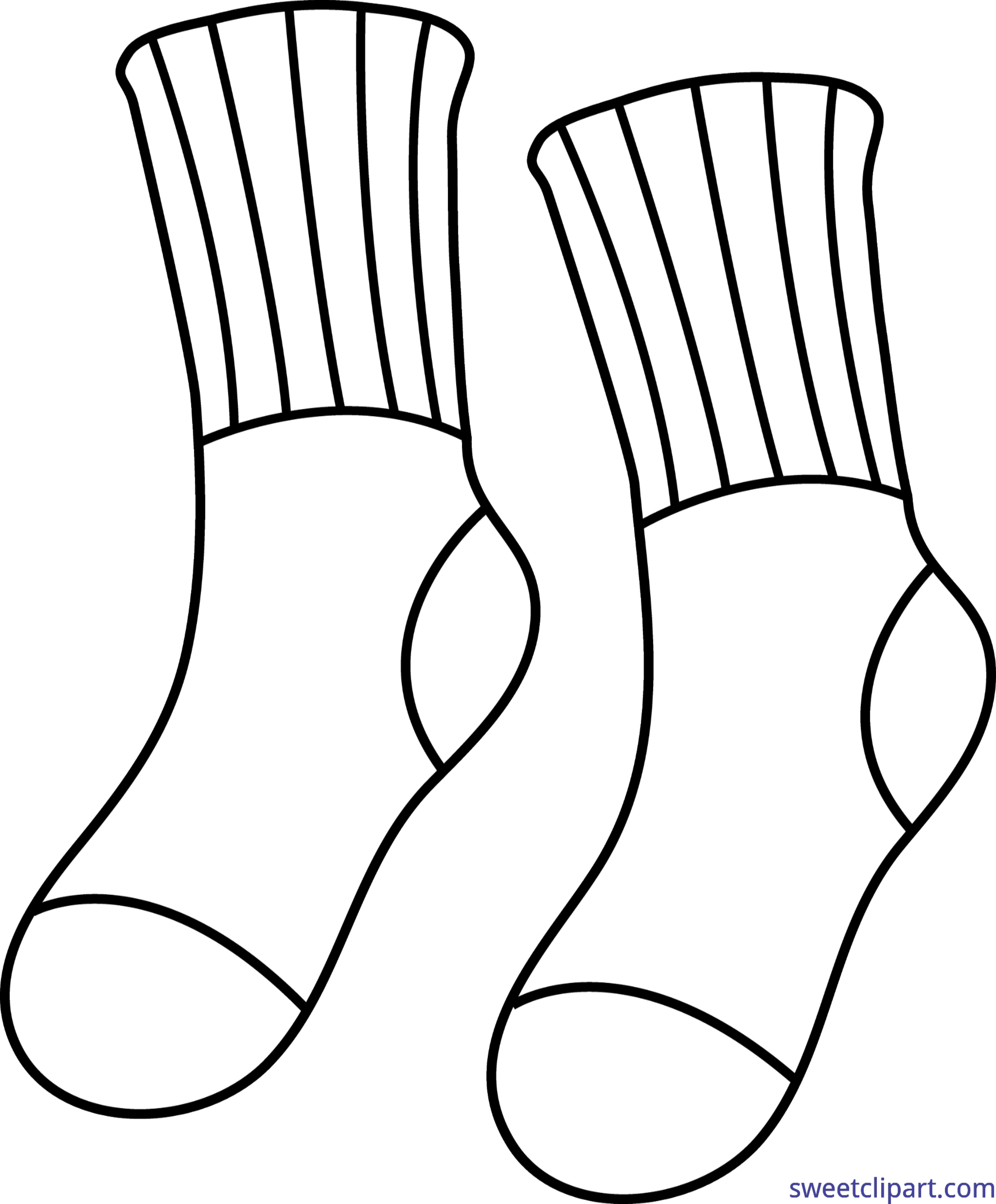 Soccer sock free on. Clipart socks mitch
