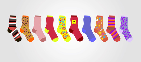 Clipart socks row. Search photos