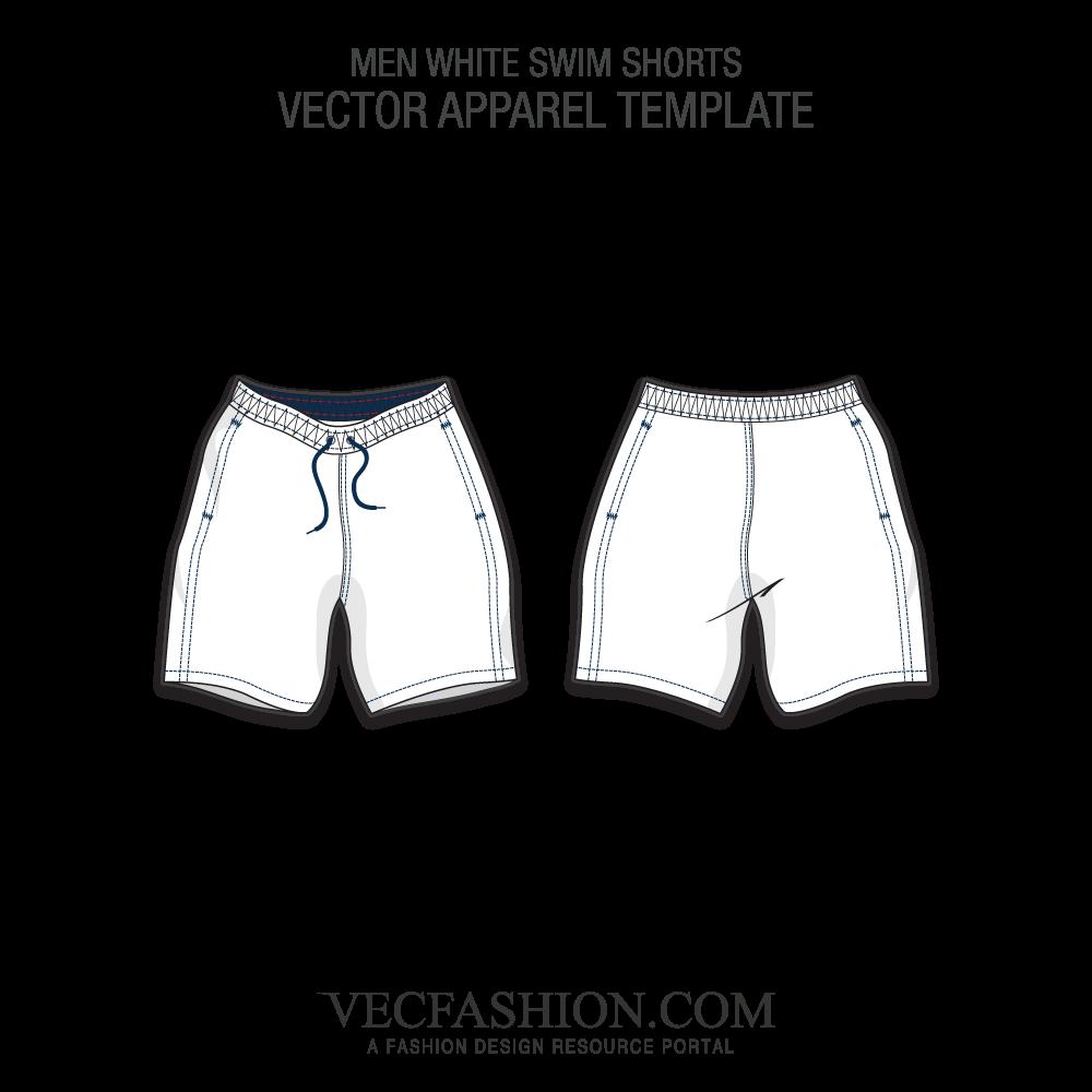 Swimsuit clipart short jeans. Shorts design template acur
