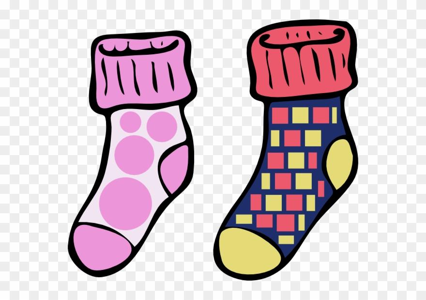 Clipart socks six. Coloring pinclipart