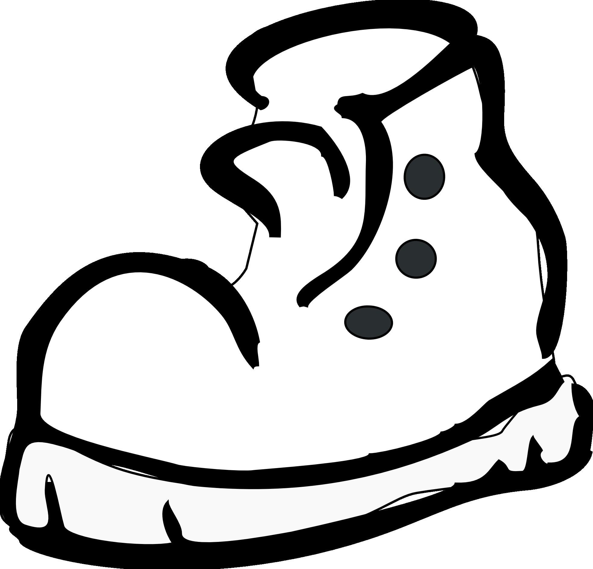 Clipart socks socks nike. Running shoes panda free