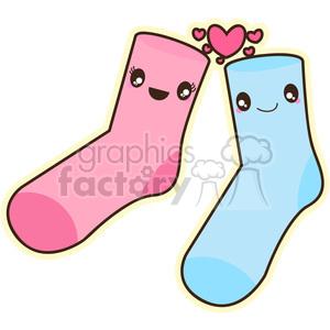 Sock clipart cute sock. Socks royalty free