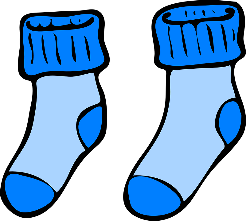 Youth group midnight run. December clipart sock