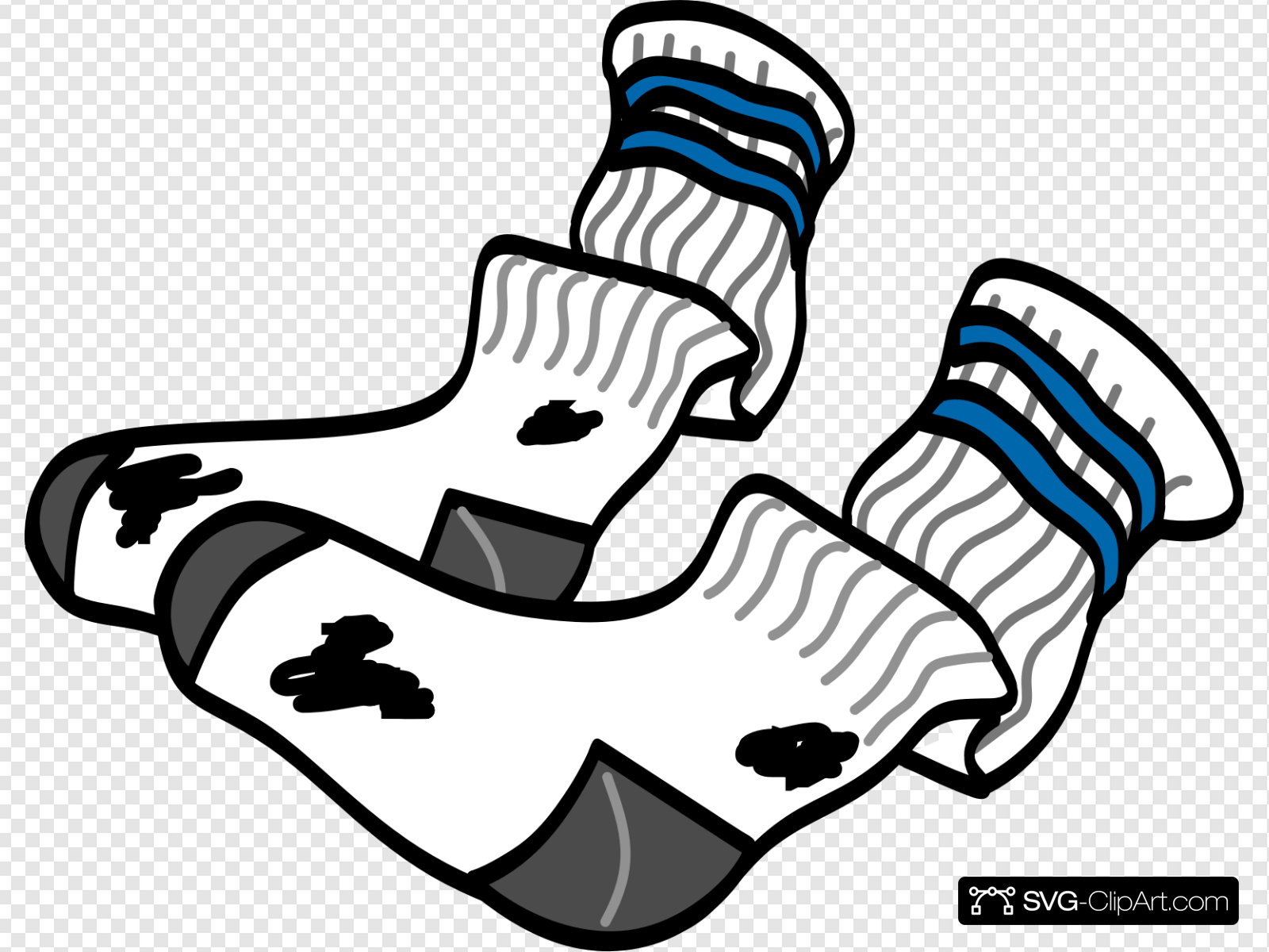Clipart socks svg. Old clip art icon