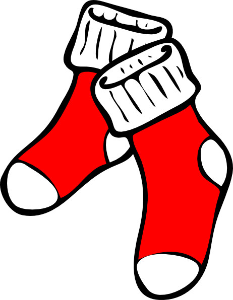 Clipart socks winter. Cliparts zone