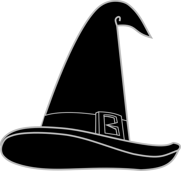 Wizard hat clip art. Witch clipart wizards