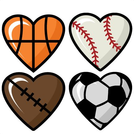 Silhouette clip art at. Clipart sports