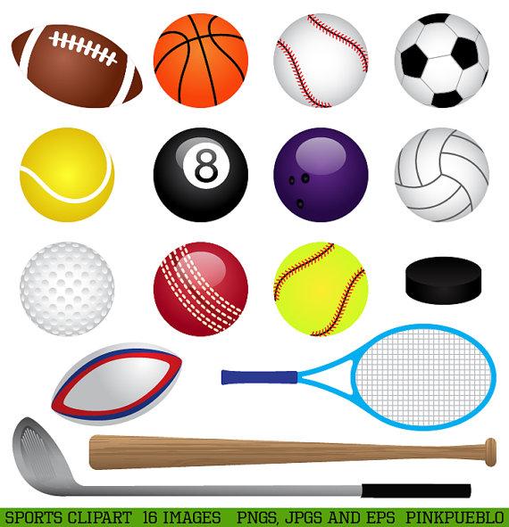 Clipart sports. Clip art basketball baseball