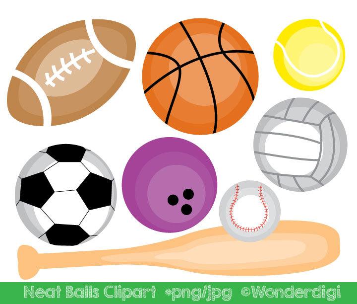 Balls clipart. Sports sport clip art