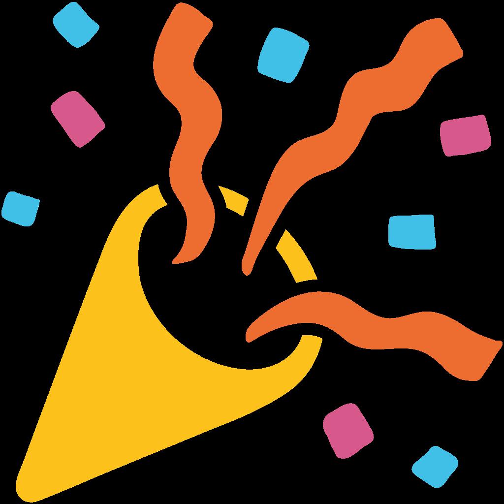 Megaphone clipart emoji. Celebration jokingart com download