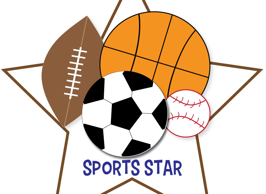 Sports news free for. Clipart stars ball