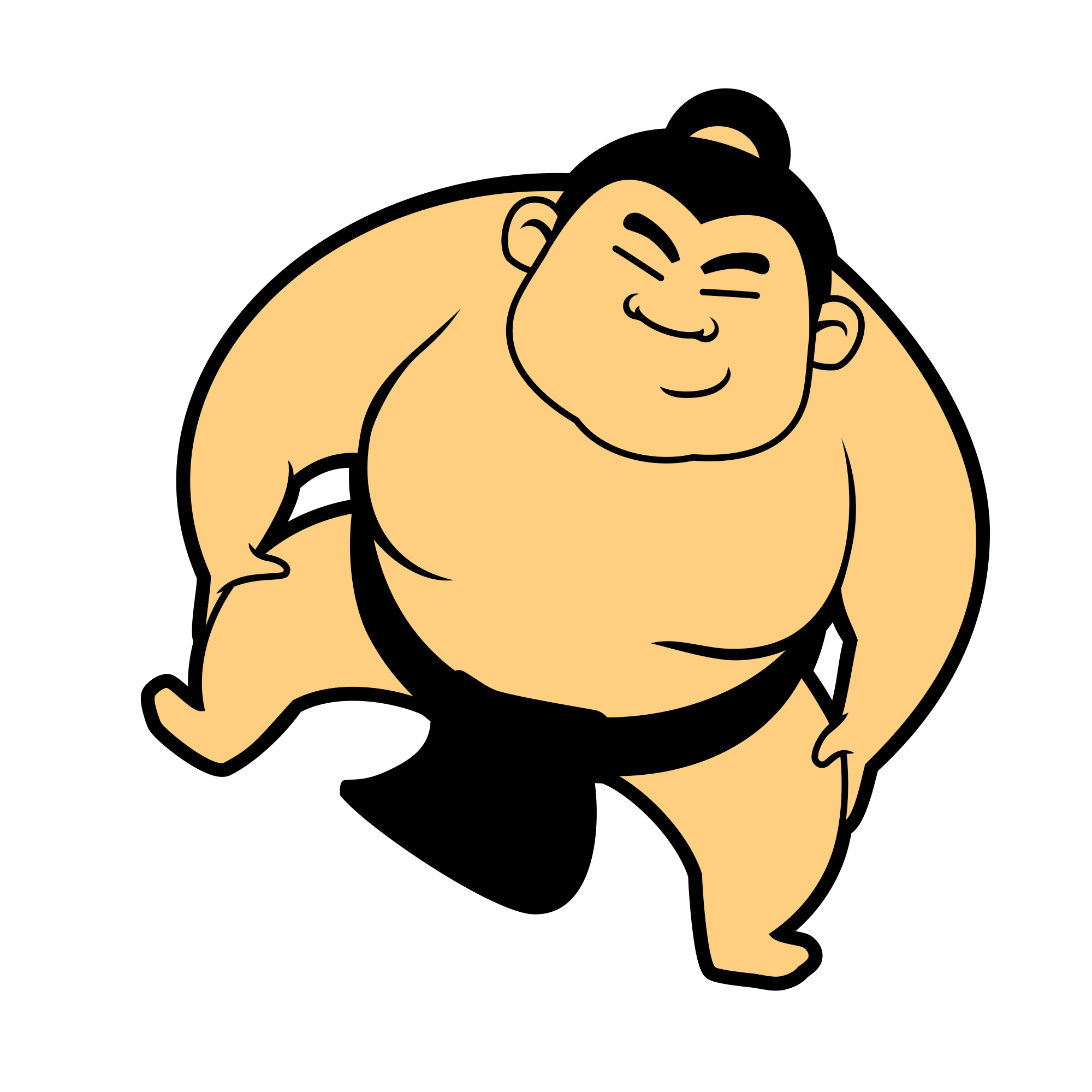 Sumo transparent png stickpng. Clipart sports character