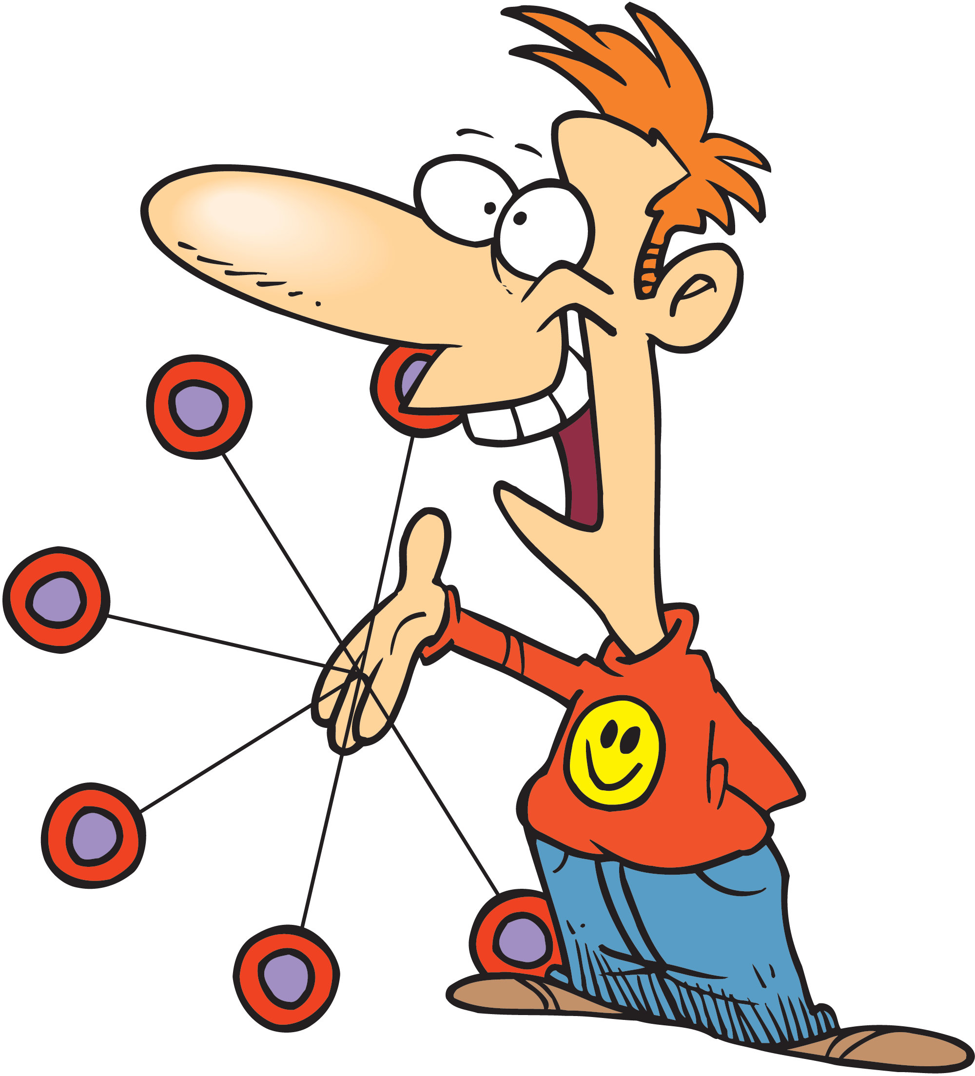 Clipart sports character. Yo day trade feeling