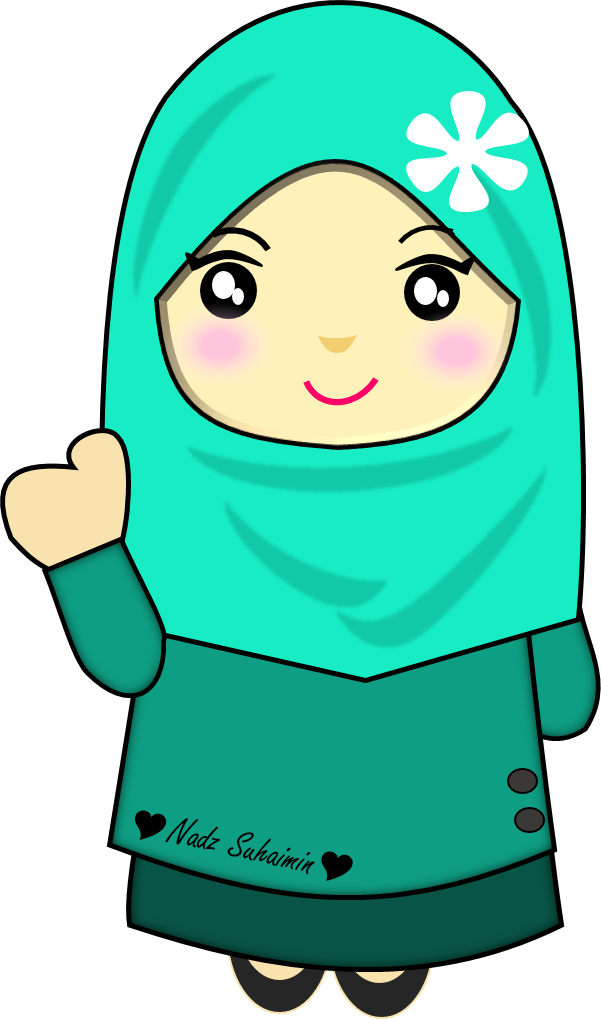 Muslimah solat pinterest doodles. Girly clipart doodle