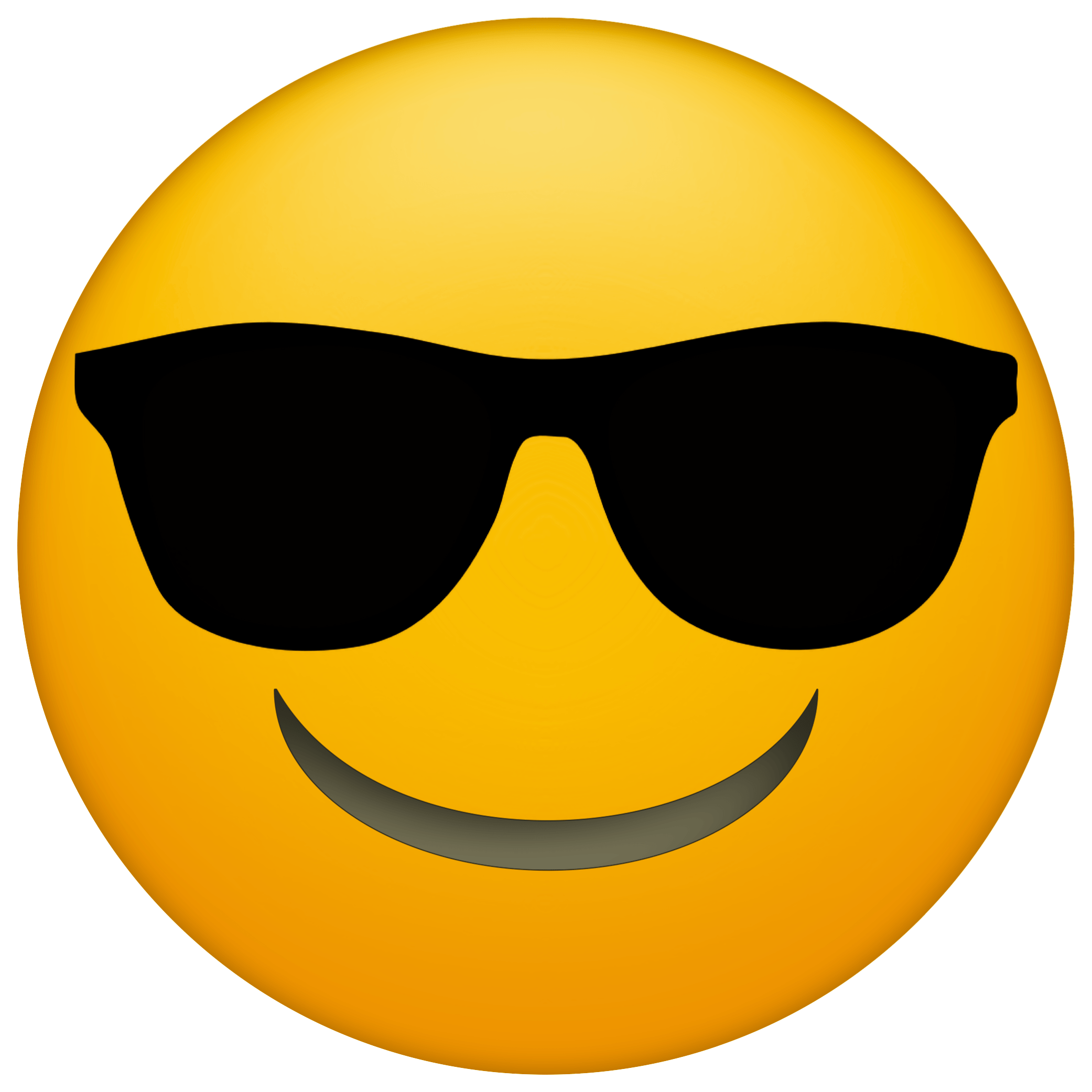 Emoji faces free printables. Sunglasses clipart printable