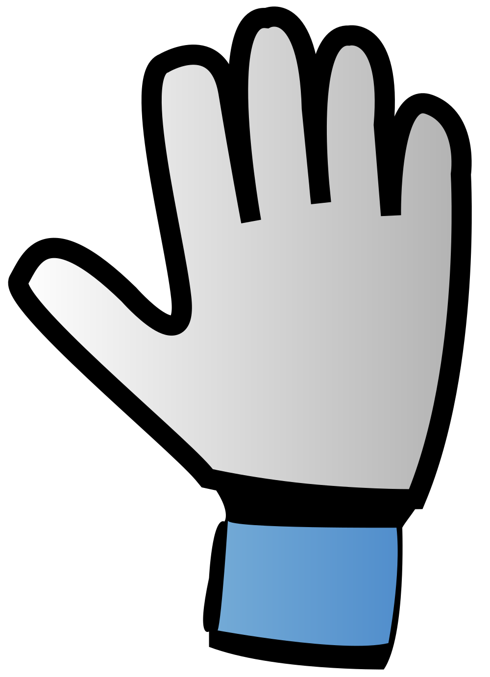 Glove clipart ppe equipment. File goalkeeper icon svg