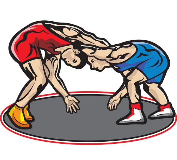 Professional clipart individual professional. Wrestling cartoon clip art