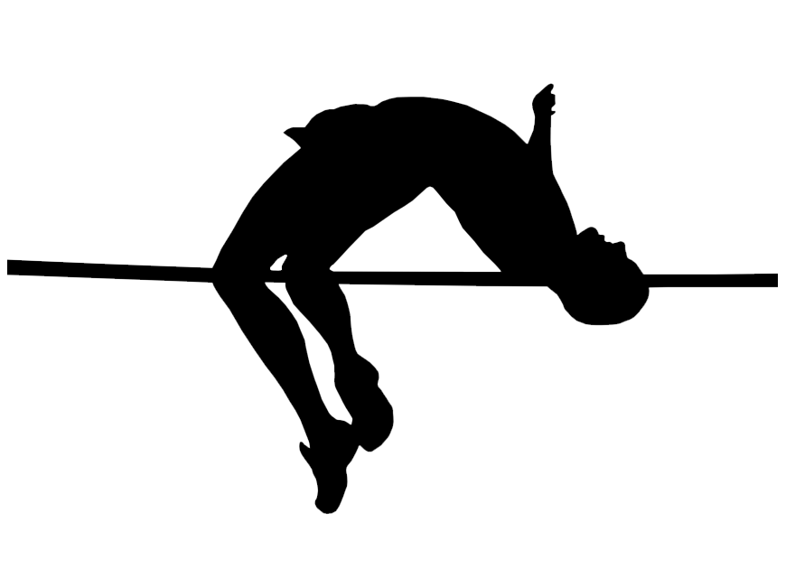 collection of long. Track clipart pole vault