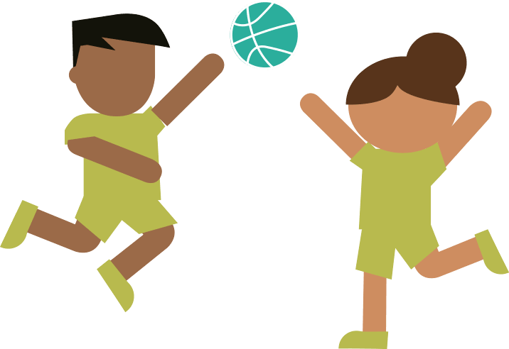 Spring volleyball clinic for. Exercise clipart physical education