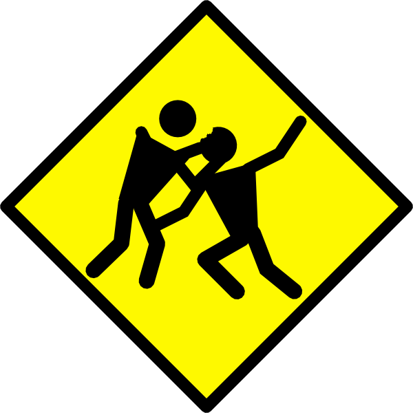 Warning road sign clip. Zombie clipart royalty free