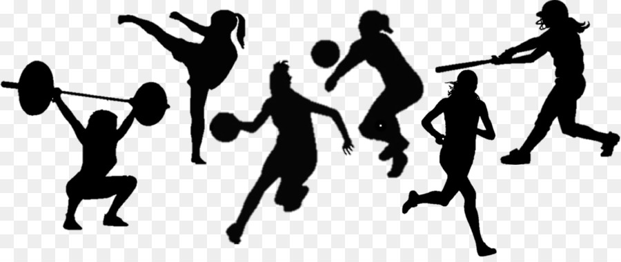 Sports clipart silhouette. Volleyball cartoon graphics