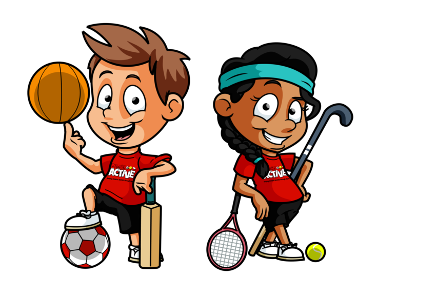 West street community primary. Family clipart sports day
