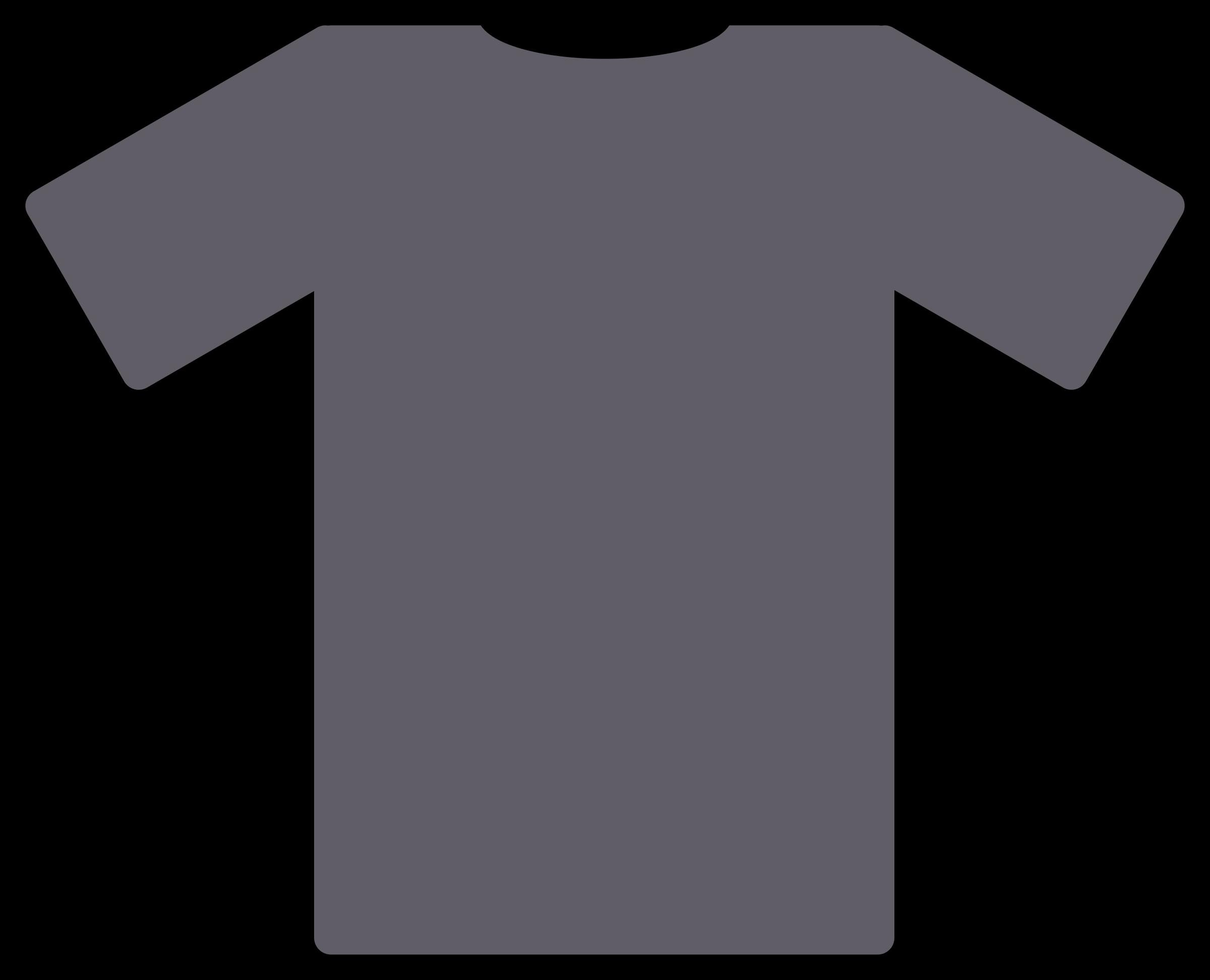 Gold clipart tshirt. Grey t shirt big