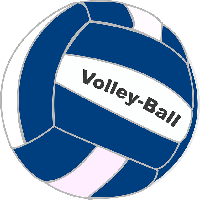 clipart volleyball volleyball team