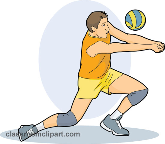 Volleyball clipart sport. Free sports clip art